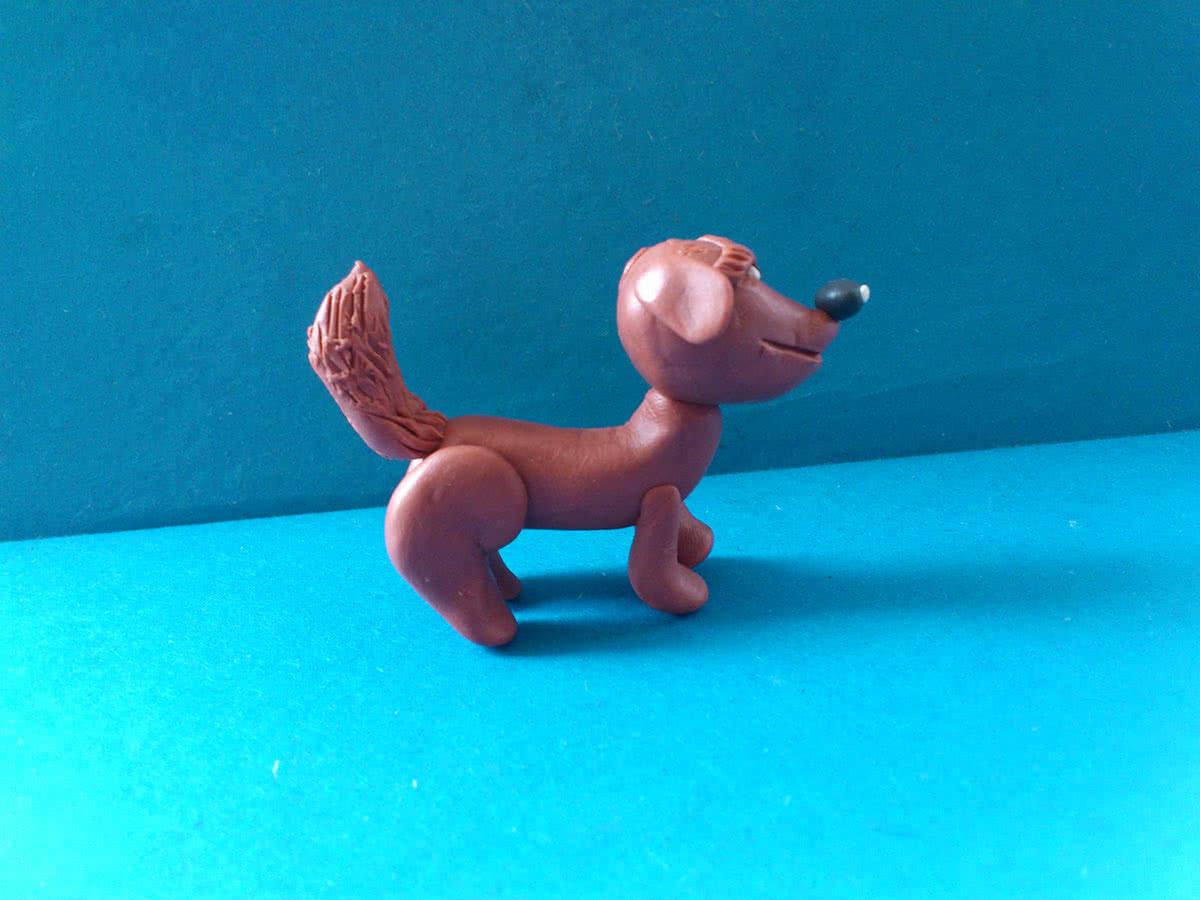 Картинки пластилиновых собак